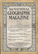 National Geographic Vol. XLIII No. 4 Magazine