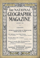 National Geographic Vol. XLIV No. 2 Magazine