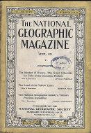 National Geographic Vol. XLVII No. 4 Magazine