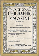 National Geographic Vol. XLVIII No. 4 Magazine