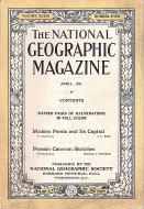 National Geographic Vol. XXXIX No. 4 Magazine
