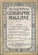 National Geographic Vol. XXXIX No. 6 Magazine
