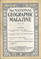 National Geographic Vol. XXXV No. 4 Magazine