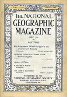National Geographic Vol. XXXVI No. 1 Magazine
