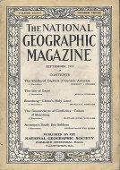 National Geographic Vol. XXXVI No. 3 Magazine