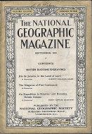 National Geographic Vol. XXXVIII No. 3 Magazine