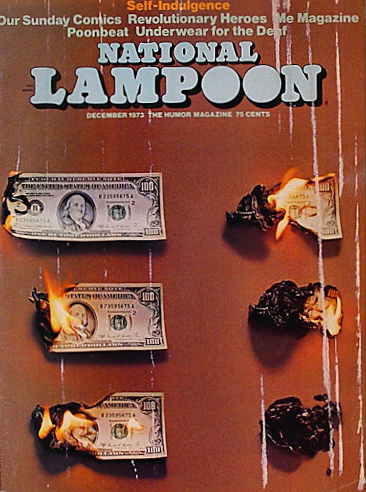 National Lampoon Magazine December 1973 Magazine