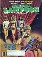 National Lampoon Magazine December 1987 Magazine
