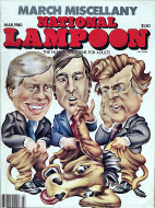 National Lampoon March 1980 Magazine