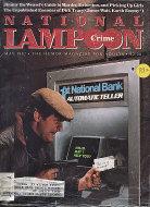 National Lampoon  May 1,1982 Magazine