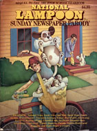 National Lampoon Sunday Newspaper Parody Magazine