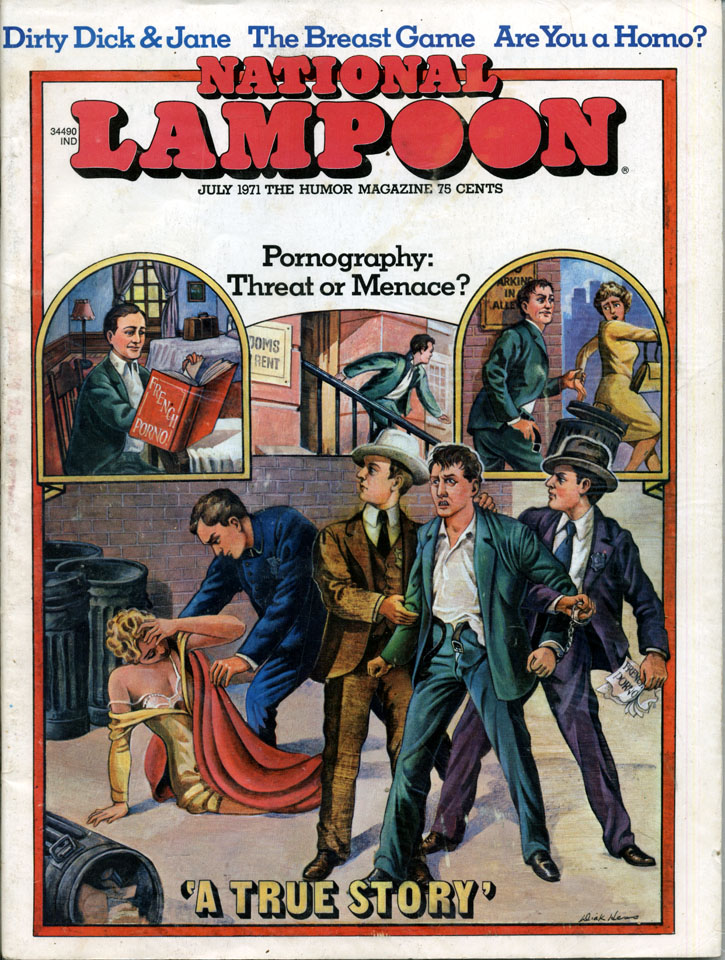 NATIONAL LAMPOON Magazine MARCH 1978 Crime and Punishment, Corporate Advertising