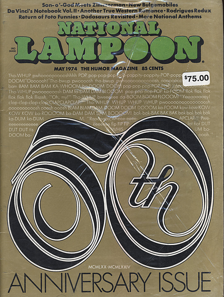 National Lampoon Vol. 1 No. 50