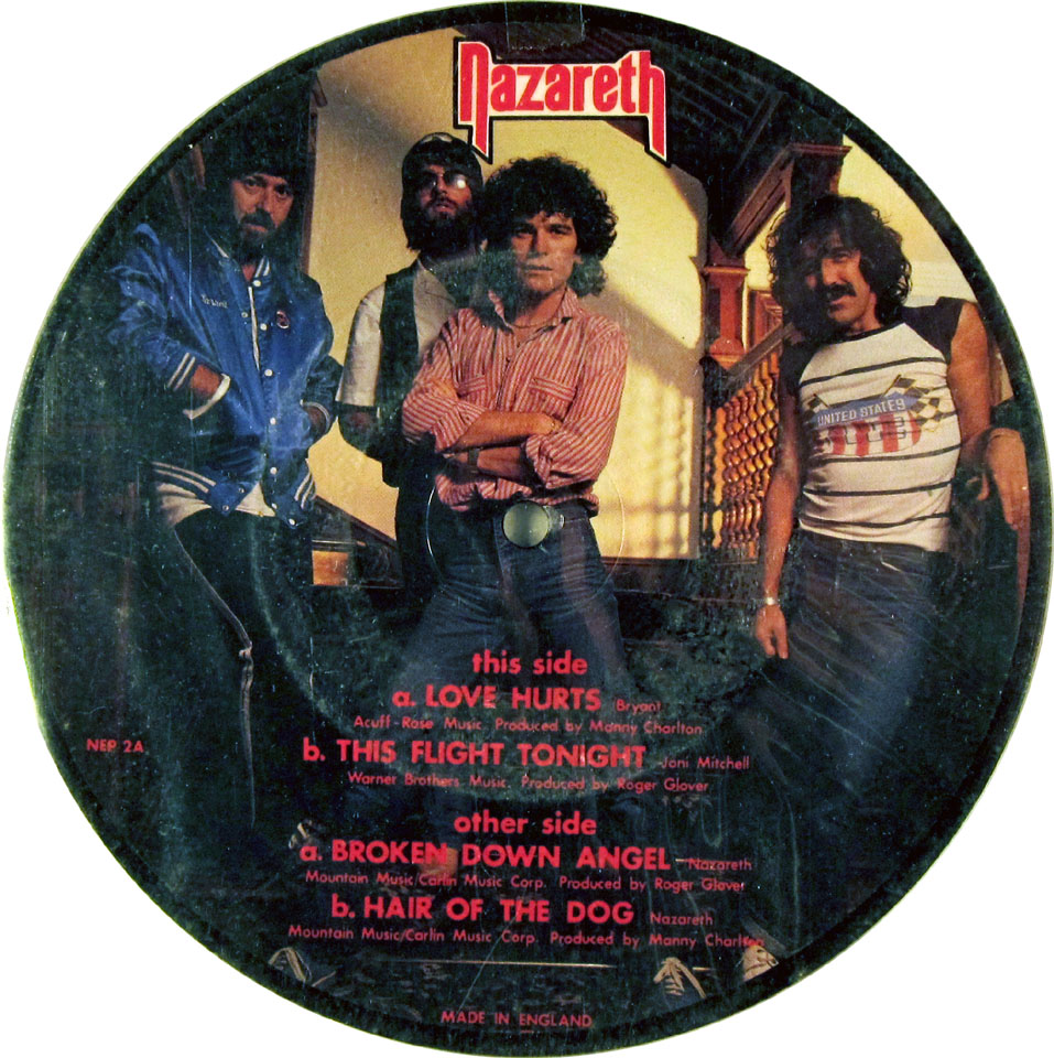 Nazareth Vinyl 7 Quot Used At Wolfgang S