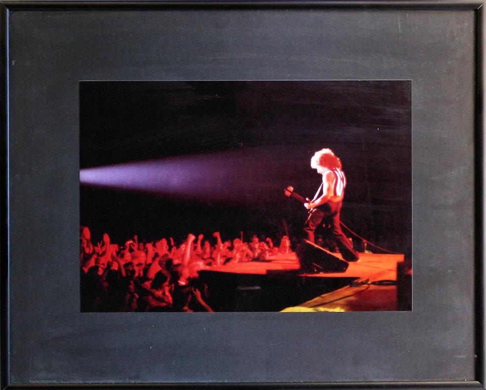 Neal Schon Framed Vintage Print