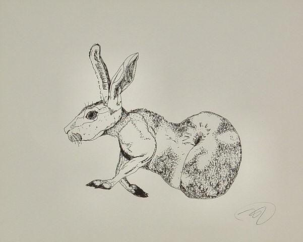 Nectarine-Hare Handbill