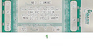 Neil Diamond Vintage Ticket