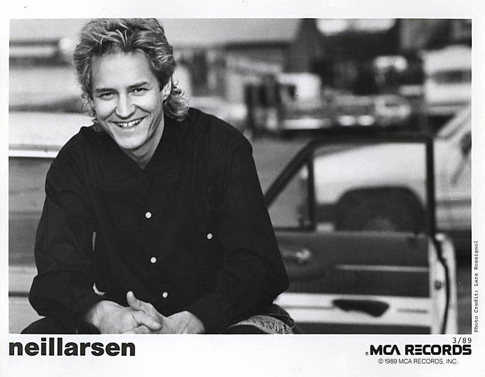 Neil Larsen Promo Print