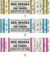 Neil Sedaka Vintage Ticket