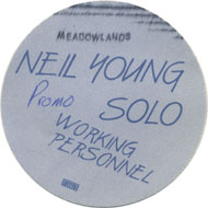 Neil Young Backstage Pass