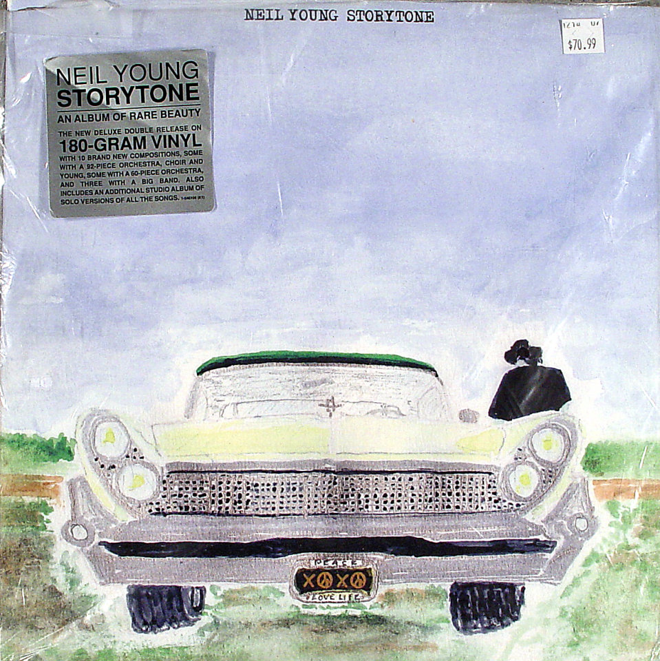 "Neil Young Vinyl 12"" (Used)"