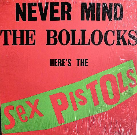 """Never Mind The Bollocks Vinyl 12"""" (Used)"""