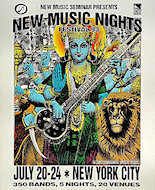 New Music Nights Festival Poster