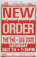 New Order Poster