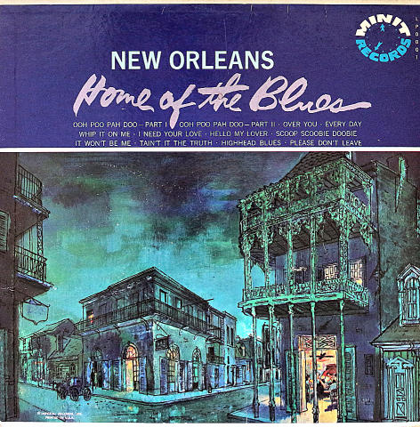 "New Orleans: Home of the Blues Vinyl 12"" (Used)"