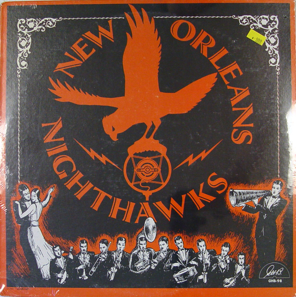 "New Orleans Nighthawks Vinyl 12"" (New)"