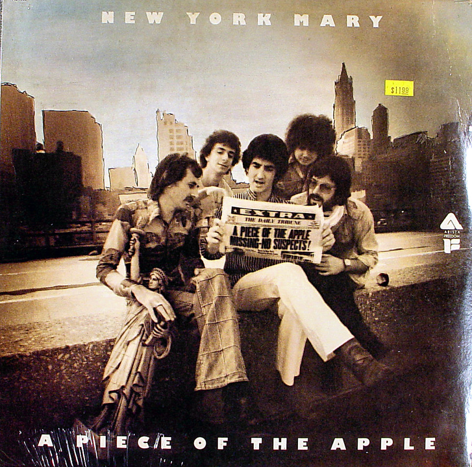 "New York Mary Vinyl 12"" (New)"