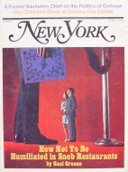 New York Vol. 3 No. 15 Magazine