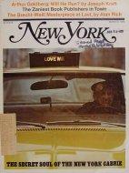 New York Vol. 3 No. 9 Magazine
