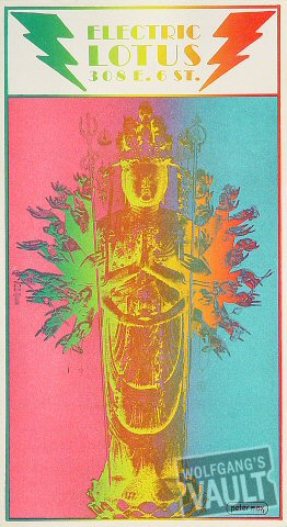 New York's Electric Lotus Handbill