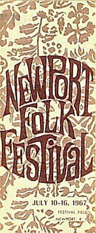 Newport Folk Festival Program
