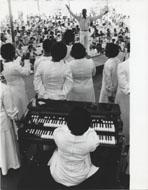 Newport Jazz Festival Gospel Choir Vintage Print
