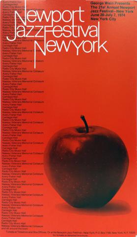 Newport Jazz Festival New York Poster From Carnegie Hall