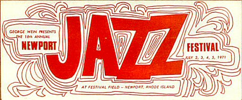 Newport Jazz Festival Program