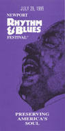 Newport Rhythm & Blues Festival Program