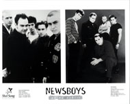 Newsboys Promo Print