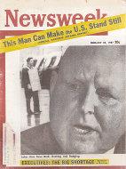 Newsweek  Feb 25,1957 Magazine
