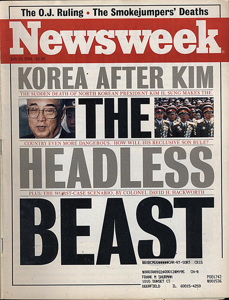 Newsweek  Jul 18,1994