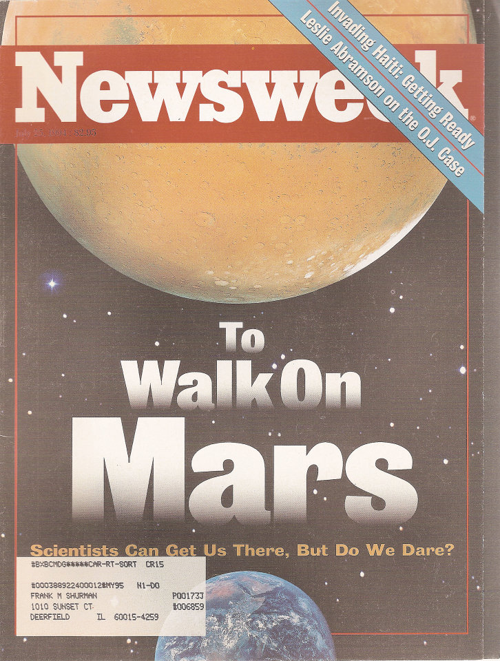 Newsweek  Jul 25,1994