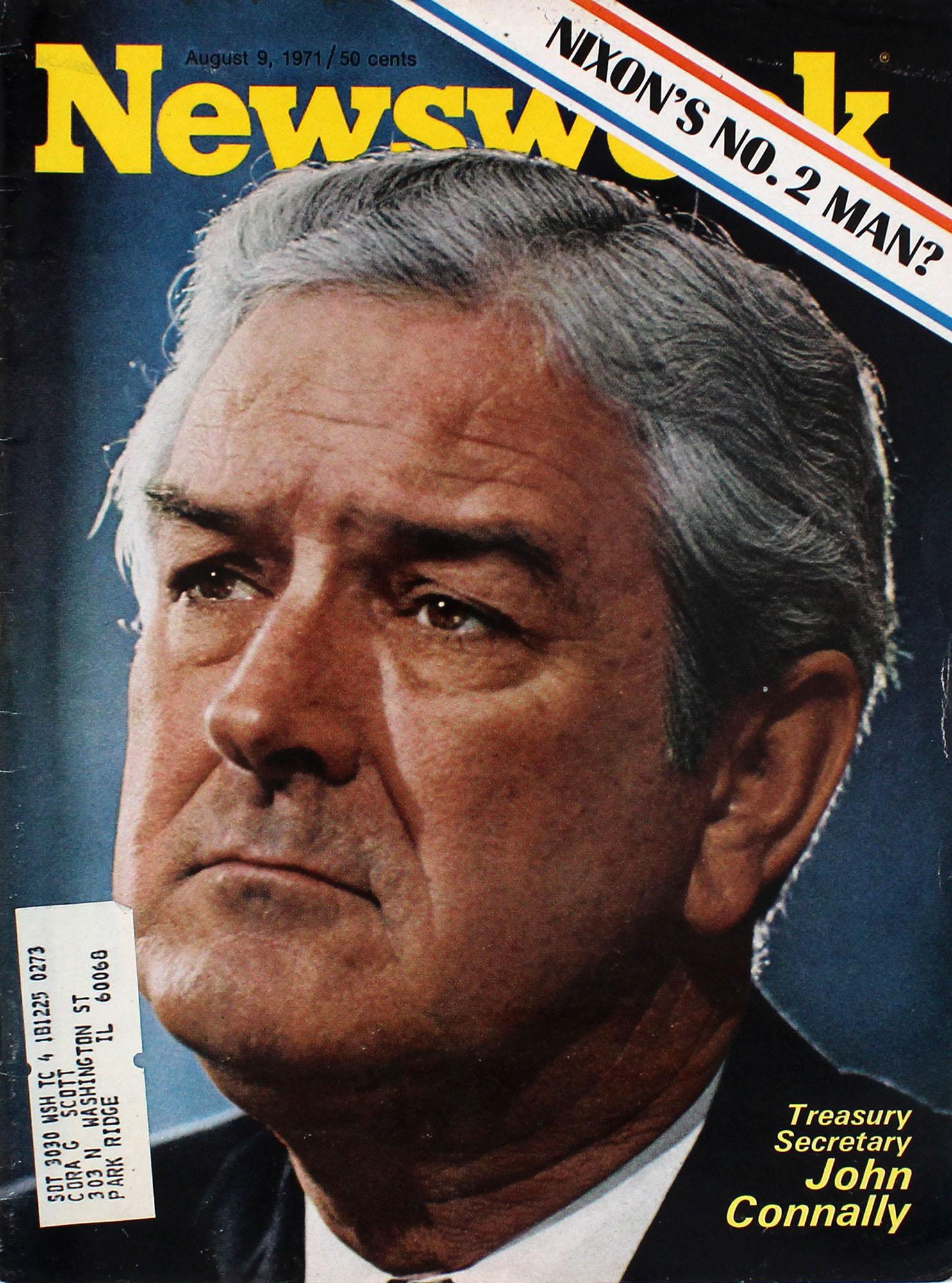 Newsweek Magazine August 9, 1971