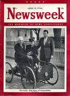 Newsweek Magazine June 10, 1946 Magazine
