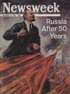 Newsweek Magazine October 23, 1967 Magazine