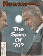Newsweek Magazine September 4, 1972 Magazine