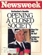 Newsweek Vol. CIX No. 1 Magazine