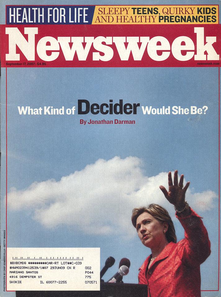 Newsweek Vol. CL No. 12