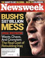 Newsweek Vol. CXLII No. 18 Magazine